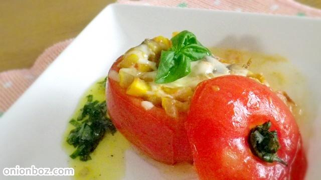 トマトのファルシ―